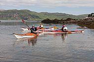 Kayak training, Ord Bay