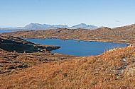 Loch Doughaill and the Cuillin, Tarskavaig