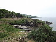 Site of old ferry on Kirkmichael walk