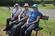 Short Walkers rest near Peebles