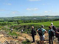 Top of the hill, Melrose Longer walk