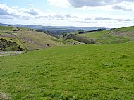 Braes of the Carse:  Looking towards Lomonds