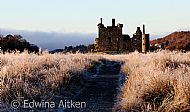 Frosty morning at Kilchurn