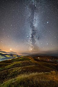 Hill tops to the stars