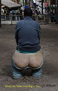 Does my bum look big in this