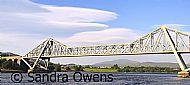 The bridge over the Falls of Lora