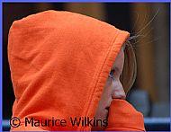 The Girl in the Orange Hood