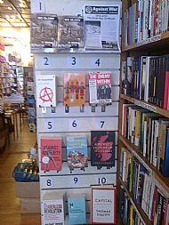 Housmans Bookshop, London, Top 10 Bestsellers July 2014