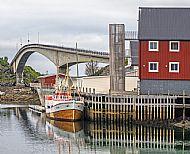 Bridge to Henningsvaer