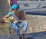Young Warsaw musician