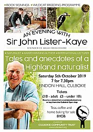 An Evening with Sir John Lister Kaye