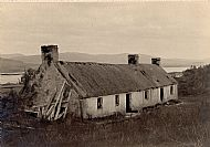 1913 The house father Thomas Ross (1830 Parish of Urquhart -1915 Canada) was born in. Suggested that this is Badenerib. Also referred to as Badnerb (Deer thicket) or (Place of the deer)