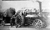 Messrs Hannan's threshing machine