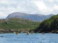 Paddling towards Quinag