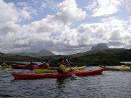 Enjoying views of Suilven on a day trip