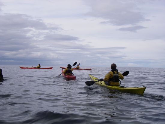 paddling around the summer isles