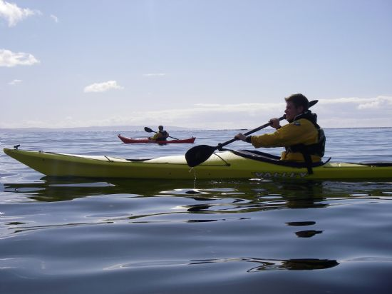 paddling the summer isles