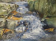 Lumsdale in Autumn
