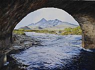 The Cuillin 'framed'