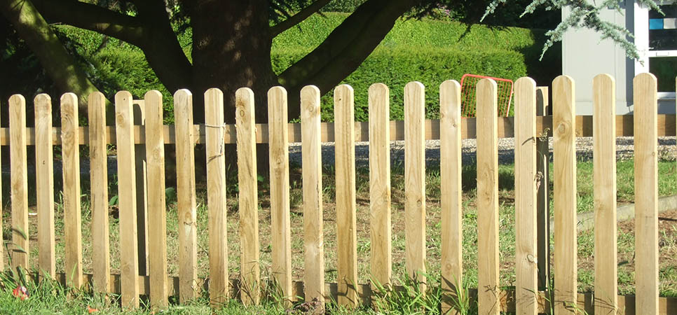 domestic - picket fence