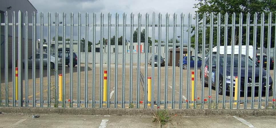 commercial - security fencing