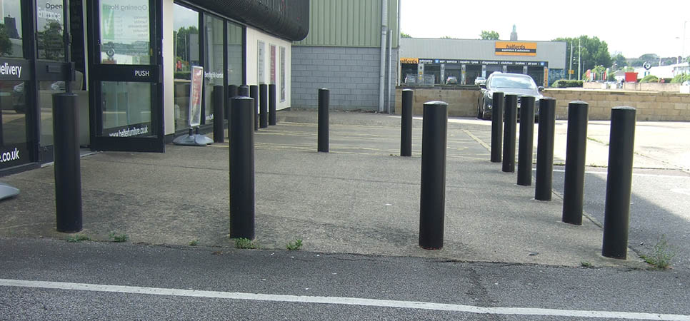 commercial - security bollards