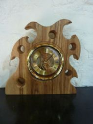ash fantasy mantle clock