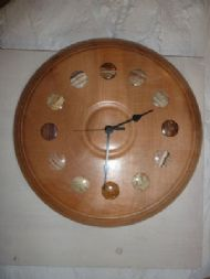 sycamore and onyx clock