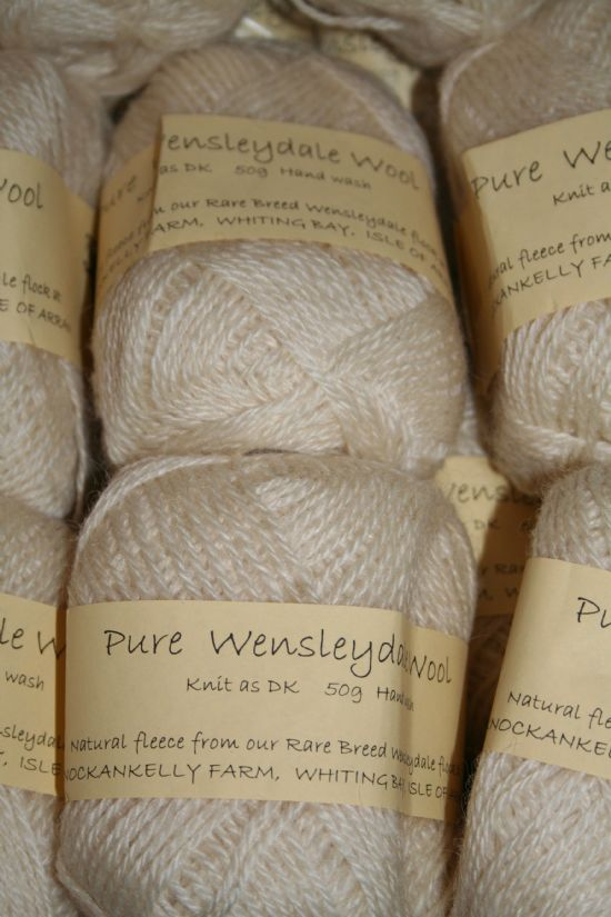 Knitting Patterns For Wensleydale Wool : Knockankelly Farm Wensleydale Sheep