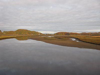 river add estuary