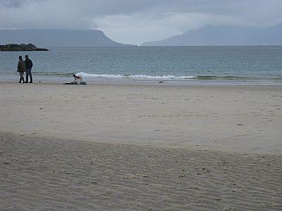 ideas discussion walk on beach