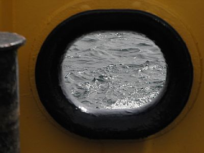 looking through port hole