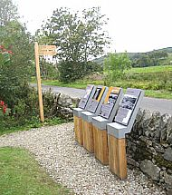 Landscape interpretation and waymarking Kilmartin Glen
