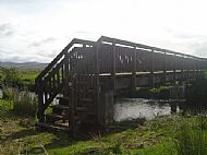Refurbished bridge for Dalriada Heritage Trail