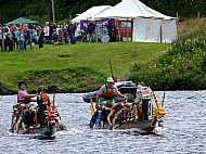 Crinan Canal Water Festival dragon boat race