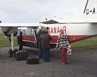 HPA269   Sanday Airfield, 1980's (Stuart Christie)