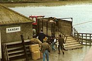 HPA288   Kettletoft Pier 1970's (Orkney Image Library)
