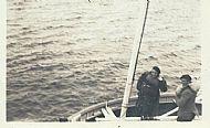 HPA741   William Tulloch and Willa Ward, Sanday Regatta