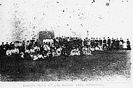 HPA402   Burness picnic at Scar, early 20th century