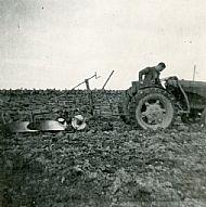 HPA079   Jock Brown, ploughing 1960's
