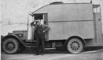 HPA005 - Lochend Mobile Shop, c.late 1930's