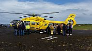 HPA374   Scottish Air Ambulance Service: New Helicopter. 11th July 2015