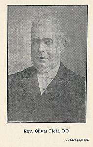 HPA740   Rev. Oliver Flett. Born at Towerhill, 1830