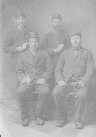 HPA335   Four Sanday Postmen