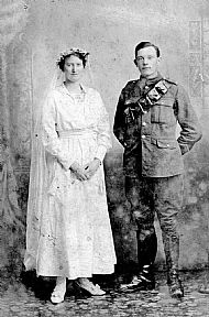 HPA622   Sapper J I Mathewson & Mrs Mathewson nee Bethia Sinclair (Kettletoft)