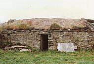 HPA525   Old house at Clickimin