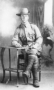 HPA308   Pte. Peter Fotheringhame, Templehall, 3rd Australian Brigade of Infantry