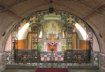 inside the italian chapel