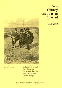 new orkney antiquarian journal volume 4 cover