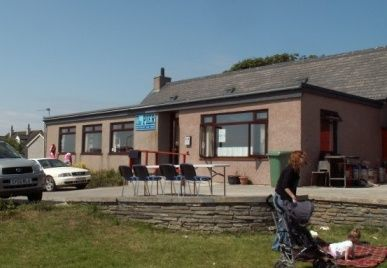 the pier restaurant, rousay - we are indebted to them and thank them for allowing us to take them over!